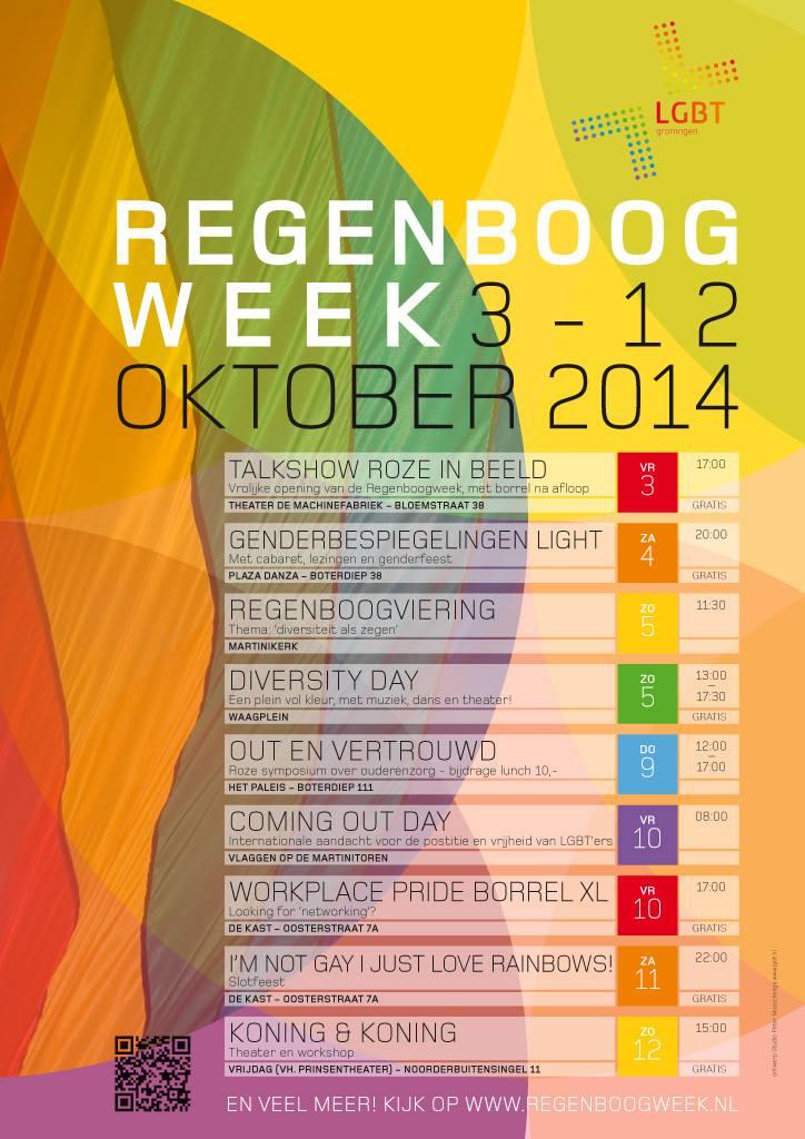 flyer regenboogweek 2014